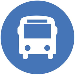 Blue Bus Route